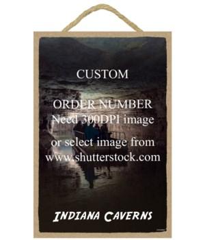 """Custom 7X10.5"""" Wood Sign"""