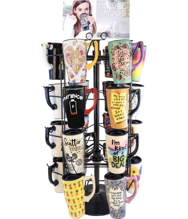 """Coffee mug display 32""""T x 16'W x 16""""D"""