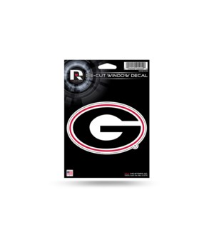DIE CUT DECAL - GA BULLDOGS