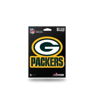 DIE CUT DECAL - GB PACKERS