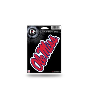 DIE CUT DECAL - OLE MISS REBELS