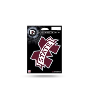 DIE CUT DECAL - MISS STATE