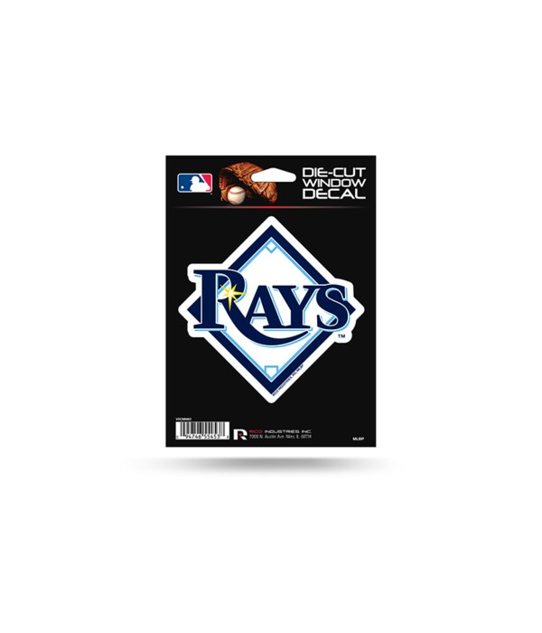 DIE CUT DECAL - TAMPA BAY RAYS