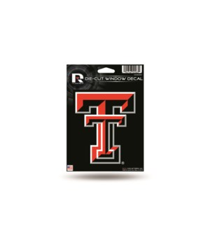 DIE CUT DECAL - TEXAS TECH