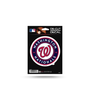 DIE CUT DECAL -  WASH NATIONALS