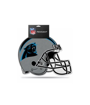 CAR PANTHERS DIE CUT PENNANT