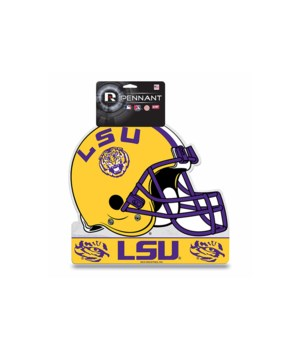 LSU TIGERS DIE CUT PENNANT