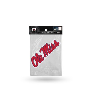DIE CUT STATIC - OLE MISS REBELS