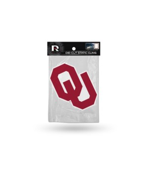 DIE CUT STATIC - OKLAHOMA SOONERS