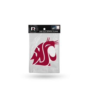 DIE CUT STATIC - WASH STATE COUGARS
