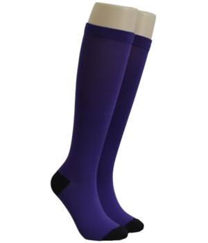Dark Purple Dr. Foozys Compression Socks