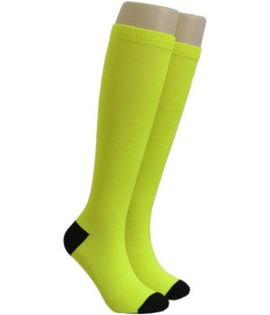 Lime Green Dr. Foozys Compression Socks