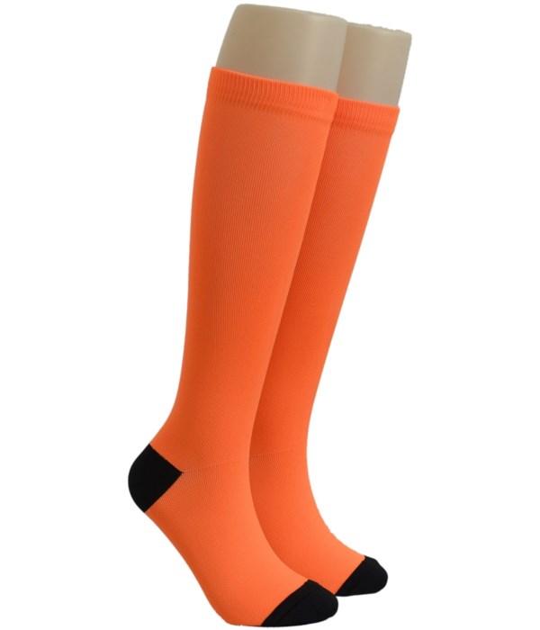 Orange Dr. Foozys Compression Socks