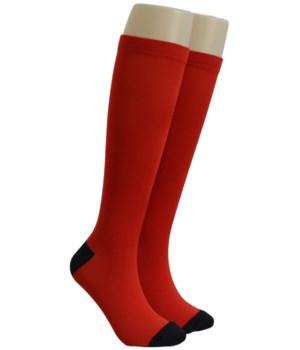 Red Dr. Foozys Compression Socks