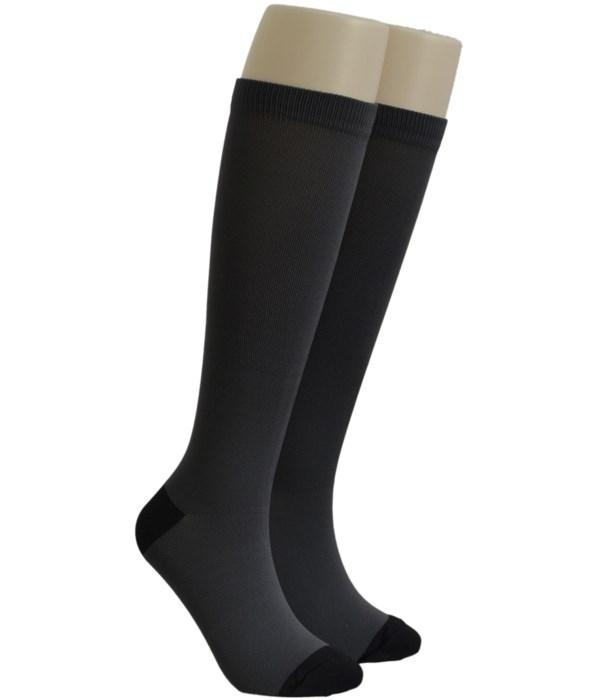 Charcoal Dr. Foozys Compression Socks