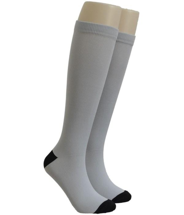 Silver Dr. Foozys Compression Socks