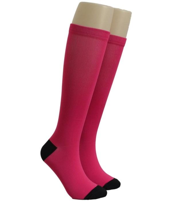 Magenta Dr. Foozys Compression Socks