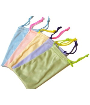 Microfiber Sunglass Bag - Assorted