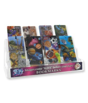Bookmarks 3-D 48pc display