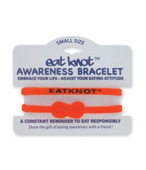 Eat Knot™ 2Pk Awareness Bracelet 36PC
