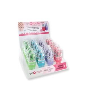 Manicure Set Display 24PC