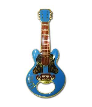 ELVIS BOTTLE OPENER - BLUE #1