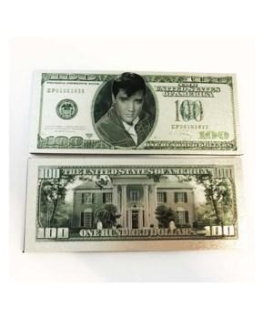 ELVIS MAGNET - $100 BILL #1