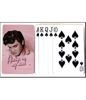 E8263 EP PLAYING CARDS PINK #1