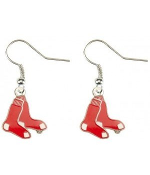 EARRINGS - BOS RED SOX