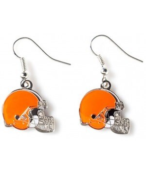 EARRINGS - CLEV BROWNS