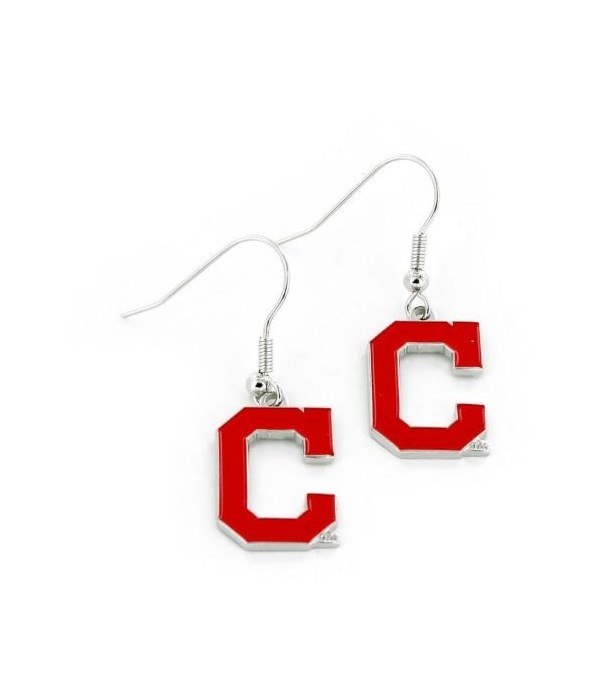 EARRINGS - CLEV INDIANS