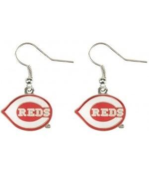 EARRINGS - CIN REDS
