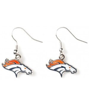 EARRINGS - DEN BRONCOS