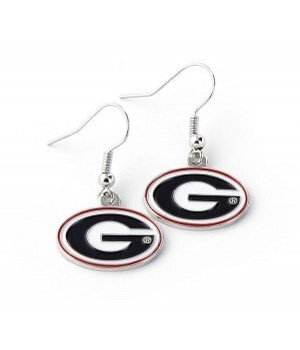 EARRINGS - GA BULLDOGS