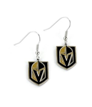 EARRINGS - LAS VEGAS GOLDEN KNGHTS