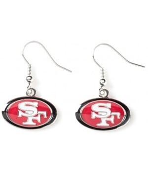 EARRINGS - SF 49ERS