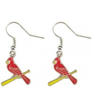 EARRINGS - SL CARDINALS - BASEBALL
