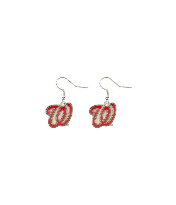EARRINGS - WASH NATIONALS