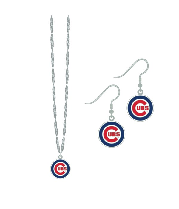 EARRING/NECK SET - CHIC CUBS