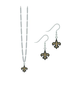 EARRING/NECK SET - NO SAINTS