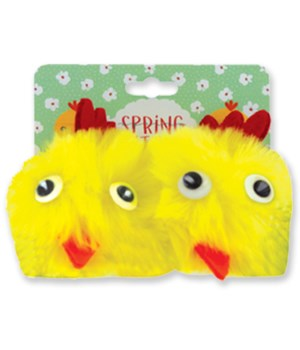 Spring Critters Adorable Hair Clips 24PC