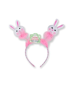 Easter Plush Bobble Headband 24PC