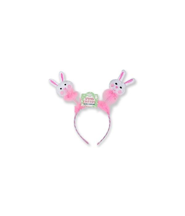 Easter Plush Bobble Headband 24PC