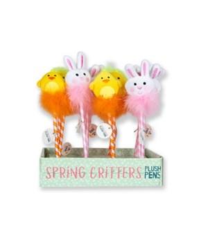 Easter Plush Pen Display 24PC