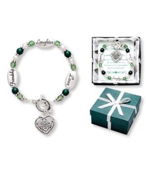 Sterling  layered Celtic Bracelet