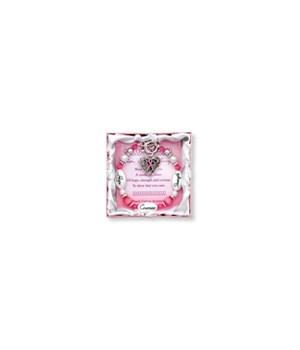 BCA Pink Ribbon Bracelet 3PC