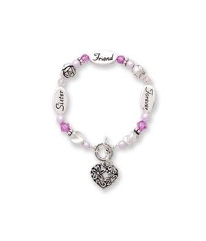 Sister, Friend, Forever Bracelet 3PC