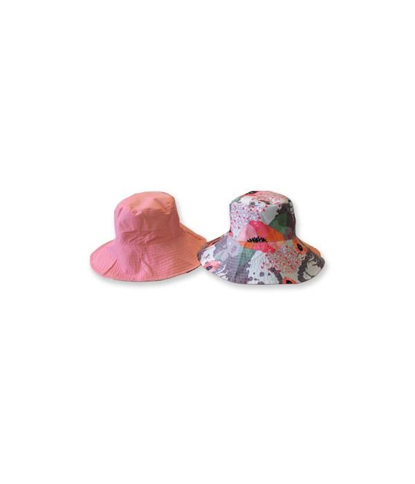 Pink Reversible Fashion Flips Hat 3PC
