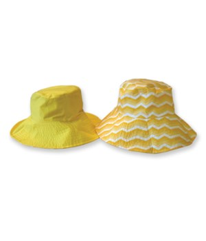 Yellow Fashion Flips Hat 3PC