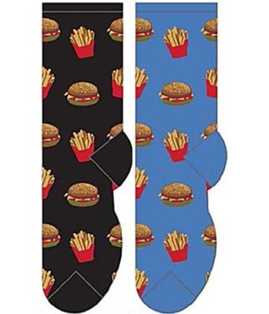 Hamburger & Fries - Women's Crew